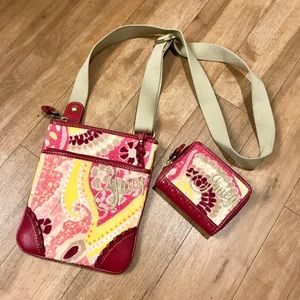 Juicy small tote AND wallet